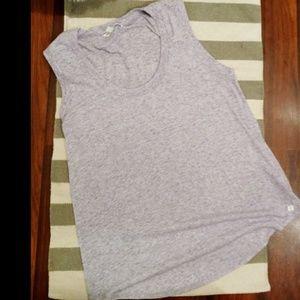 LIKE NEW Victoria's Secret Muscle Shirt Purple